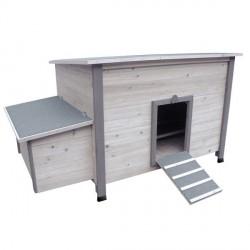 Poulailler Fort Cottage pour 5 poules pondeuses
