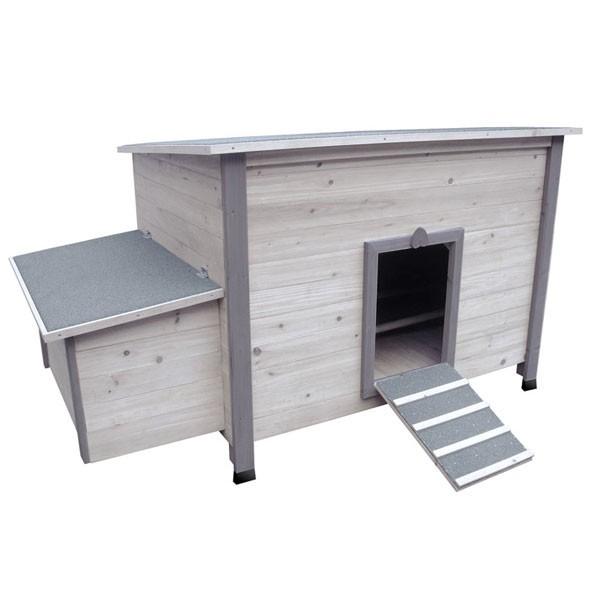poulailler fort cottage pour 5 poules pondeuses. Black Bedroom Furniture Sets. Home Design Ideas