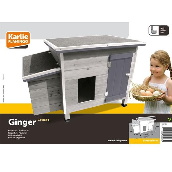 poulailler ginger pour 2 a 4 poules pondeuses. Black Bedroom Furniture Sets. Home Design Ideas
