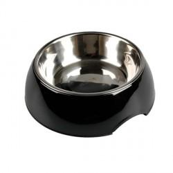 Gamelle pour chien Royal Rondo Noire personnalisée