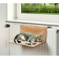 Hamac pour chat à fixer au radiateur