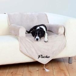 Sofa pour chien avec accoudoir