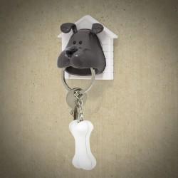 Porte clef chien woof aimanté