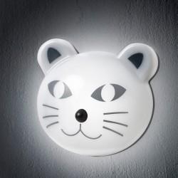 Lumière en forme de chat avec détecteur
