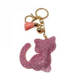 Porte clefs strass chien ou chat