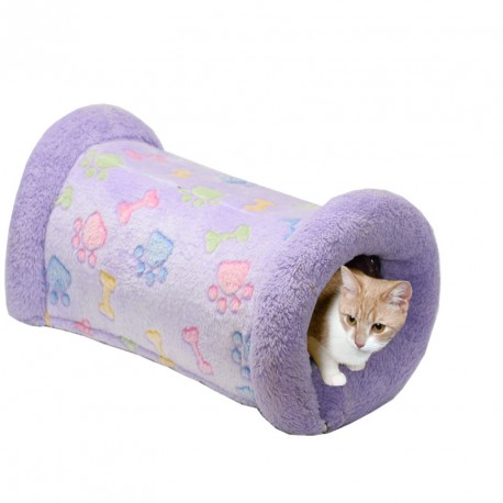 Tunnel pour chat chaud