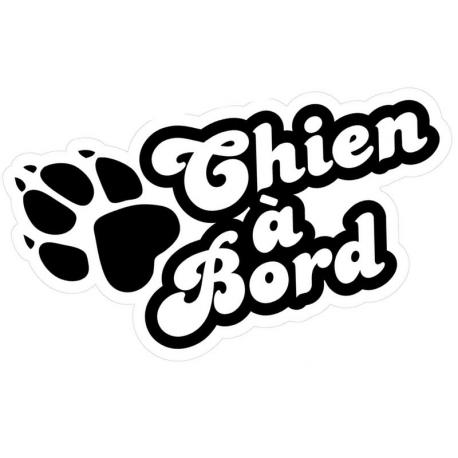 Stickers chien à bord