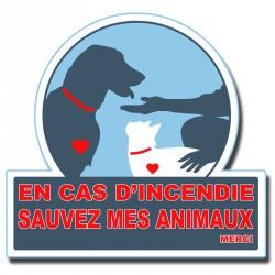 Autocollant Pet Alert