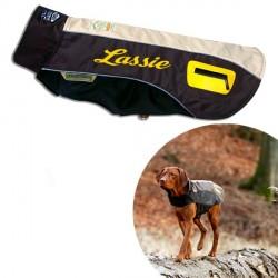 Manteau Marron personnalisé pour chien Touchdog Outdoor