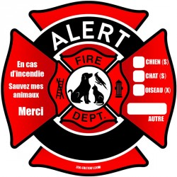 Auto collant secours