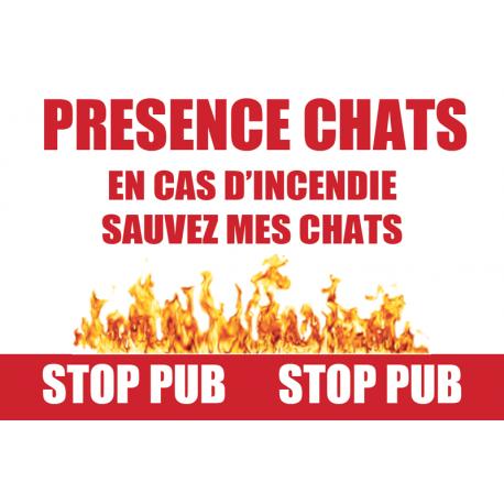 Stickers Stop Pub PET ALERT