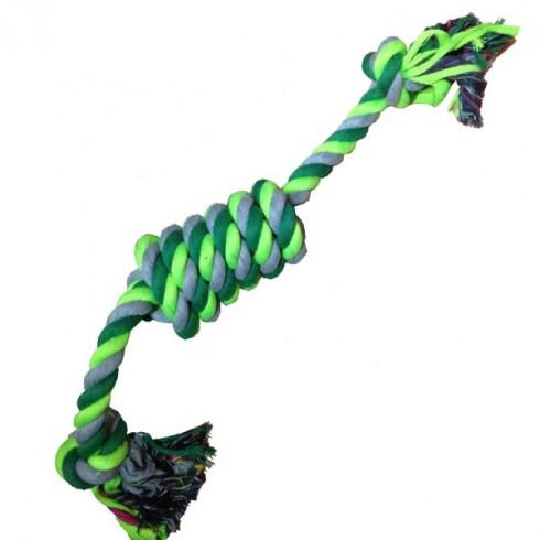 Jouet corde fluo