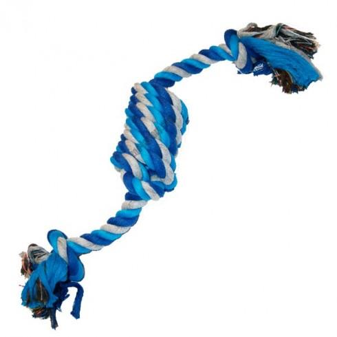 Jouet de traction bleu