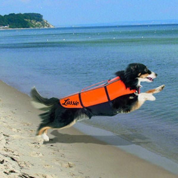 gilet de sauvetage pour chien personnalis. Black Bedroom Furniture Sets. Home Design Ideas