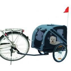 Remorque à vélo pour chien  personnalisée