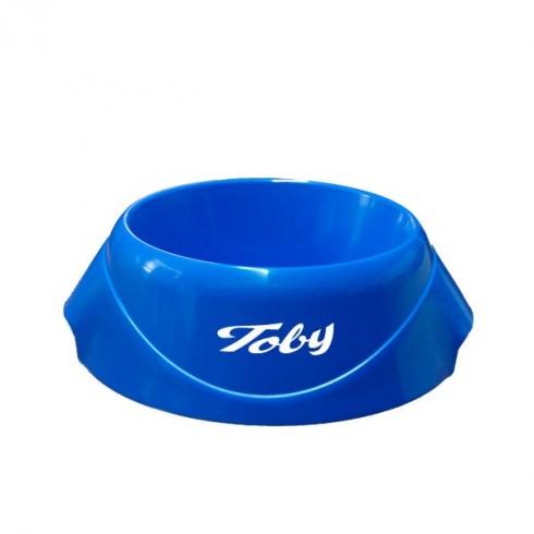 Gamelle Bleue design chien personnalisée