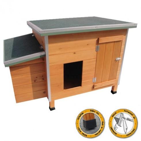 poulailler pour poules pondeuses de 1 3 poules personnalis s. Black Bedroom Furniture Sets. Home Design Ideas