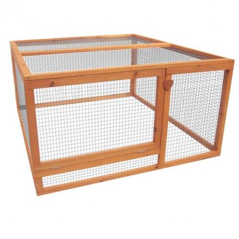 cage enclos pour poulailler happy hen. Black Bedroom Furniture Sets. Home Design Ideas