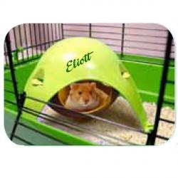Maison pour Hamster personnalisée avec la prénom