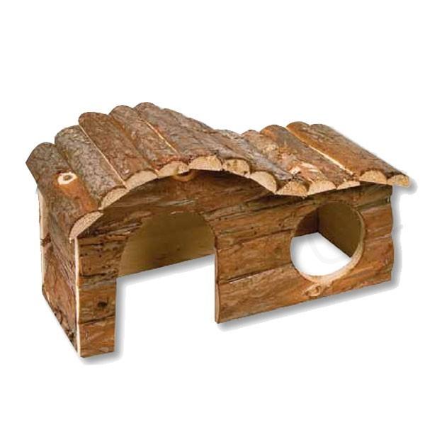 bungalow pour cochon d inde personnalisable avec le prenom. Black Bedroom Furniture Sets. Home Design Ideas
