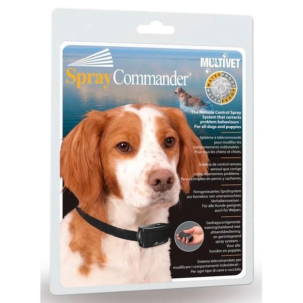 Collier electronique pour chien anti aboiements avec telecommande - Chatiere pour chien electronique ...