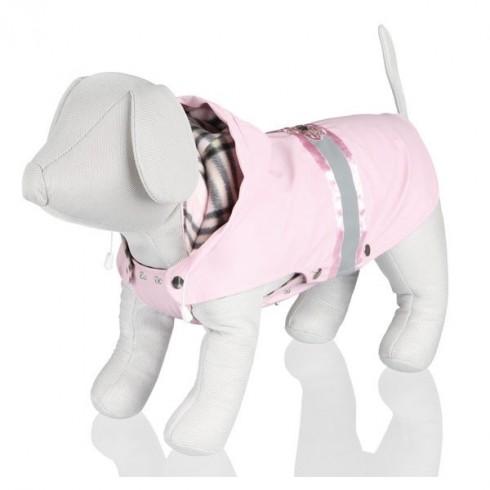 Manteau pour chienne rose tendance