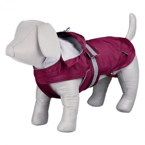 Manteau pour chienne rose foncé